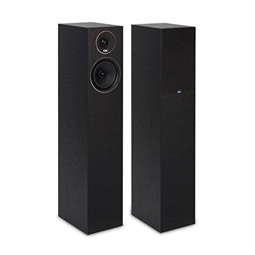 TiBo Harmony 8 | Passive Hi-Fi Standlautsprecher | 200W | Schwarz