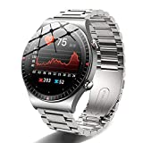 2021 Bluetooth Call Smartwatch Hombres Fitness Tracker 4G Tarjeta de memoria Reproductor de música 260mAH Reloj inteligente de batería grande para Android IOS