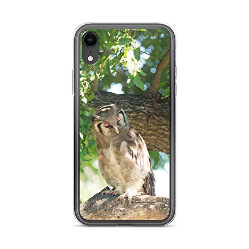 blitzversand Handyhülle WASCHBÄR REH kompatibel für Samsung Galaxy S4 Mini Eule Baum UHU Schutz Hülle Case Bumper transparent rund um Schutz Cartoon M12