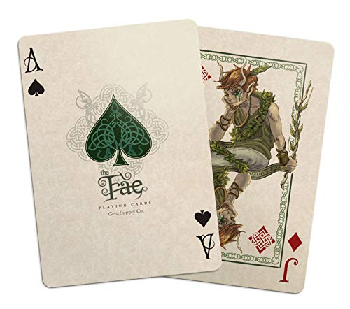 Bicycle Creatures of The FAE Playing Cards Gent Supply