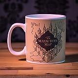 Harry Potter Merodeador taza que cambia el calor