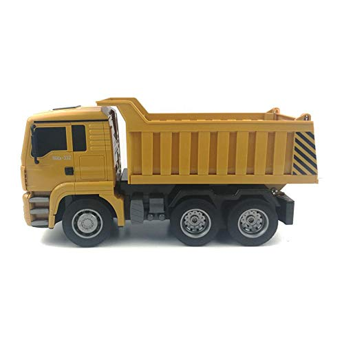 RC Auto kaufen Baufahrzeug Bild 5: RC-Muldenkipper, 1:16 Allradantrieb-Fernbedienung Muldenkipper-LKW, schweres Baufahrzeug, Hobby-Spielzeug - Geschenk für Kinder , Maximale Belastung: ca. 1 kg*
