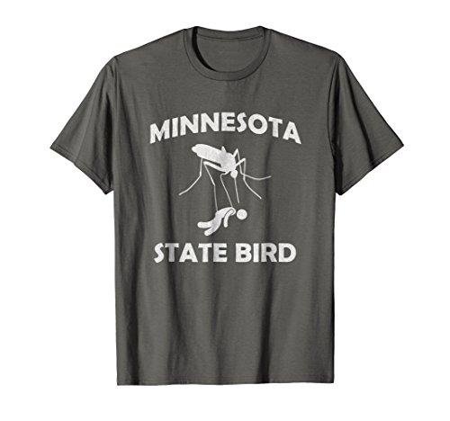 Minnesota Mosquito State Bird T-Shirt Funny Camping Outdoors