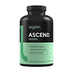 NATURAL NOOTROPIC FOR BOOSTING FOCUS & MEMORY. Ascend is a brain supplement that enhances your focus, memory, mental speed, creativity, mood, and brain health with natural ingredients like alpha gpc, bacopa monnieri, cdp choline (citicoline), uridine...