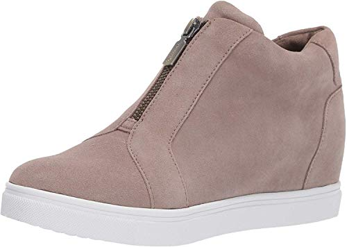 Blondo Women's Glenda Sneaker, Mushroom Suede, 7.5 Medium US
