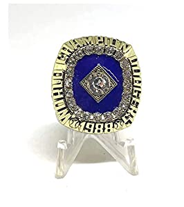 1988 Kirk Gibson Los Angleles Dodgers World Series Championship High Quality Replica Ring Size 10 Gold Colored