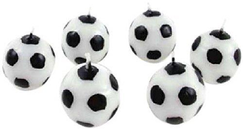 Kaarsjes Goal Lot de 6