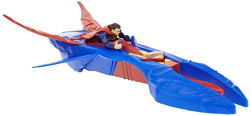 Superman - Y5883 - Figurine - Superman et son Véhicule Intercepteur de Kryptonite