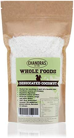Chandra Whole Foods - Desiccated Coconut (1kg)
