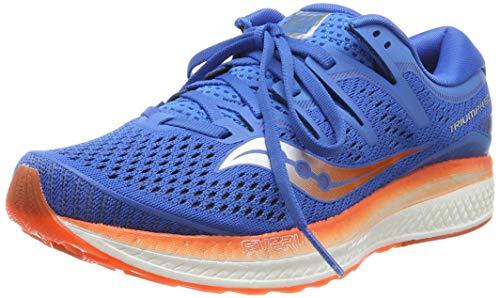 Saucony Triumph ISO 5 - Zapatillas de running para hombre, Azul (Blue/Orange 36) 45 EU