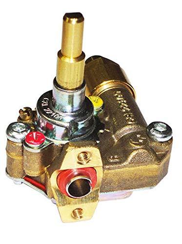 Electrolux - Rex - Aeg - Zanussi - Rubinetto gas valvolato per cucina piano cottura - 3577306016 - R4408/OR - Prodotto originale