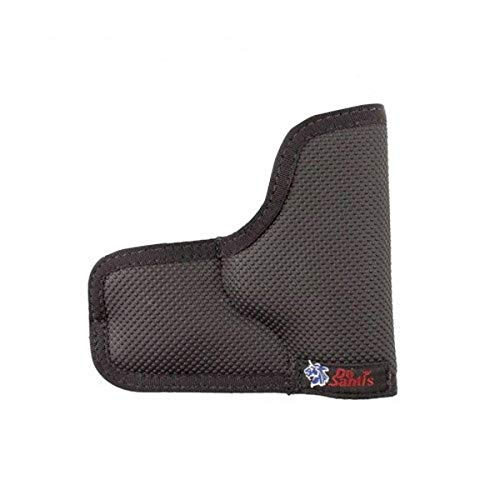 DeSantis Nemesis Ambidextrous Pocket Holster for Glock 43, Black
