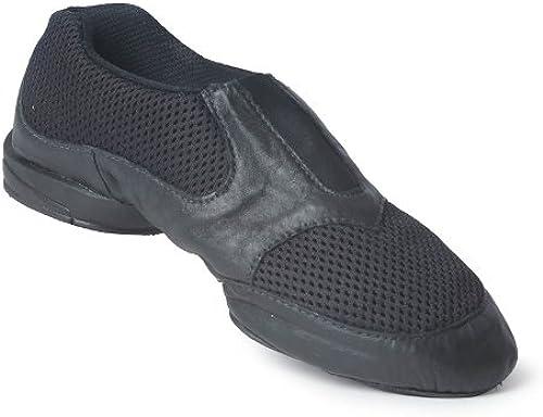 RUMPF Jazz paniers chaussures de danse chaussure chaussure de Jazz avec semelle partagée noir