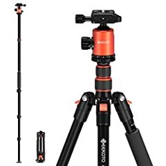 CONVENIENT: From 19'' to 77'' Flexible Adjustment.4-section column legs with quick release flip-locks allows you to adjust the working height from 19'' to 77' in seconds.Winner in height! FLEXIBLE: 360°PANORAMA AND BALL JOINT: The specially designed ...
