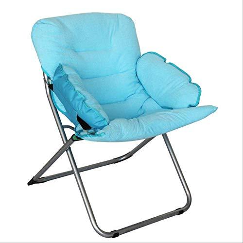 YLCJ Vouwstoel Strandstoel Buitenmeubilair Strijkijzer + Katoen campingstoel Vouwbare tuinstoel roze