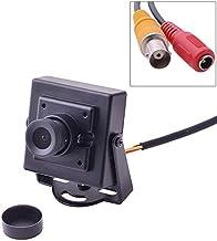 WOHAO Accessoires pour Consoles de Jeux Mini HD 700TVL 1/3 Pouce 3.6mm sécurité vidéo CCTV FPV caméra Couleur, système NTSC.