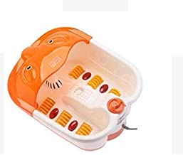 Multi Function Foot Bath Massager And Foot Spa white, Orange