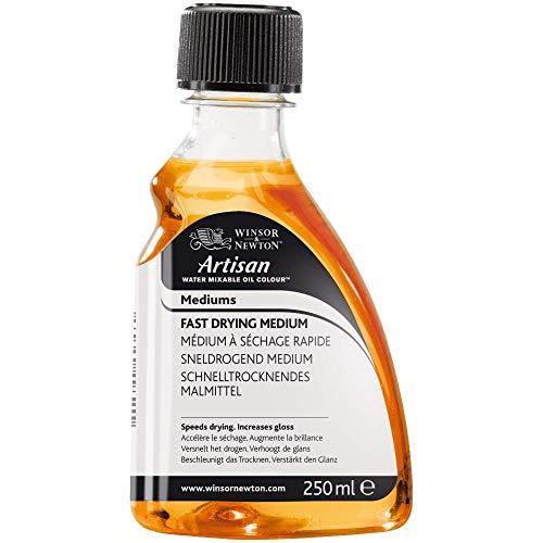 Winsor & Newton 3039720 Artisan Öl - Malmittel für wassermischbare Ölfarben - Schnelltrocknendes Medium, 250ml Flasche