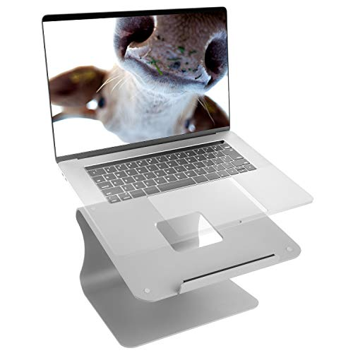 mStand Laptop Stand for desk – With Rain Minimal Design – Laptop holder stand, Macbook, Notebook – Durable Aluminium Material, Laptop table stand – Ergonomical and Practical for Your WorkStation