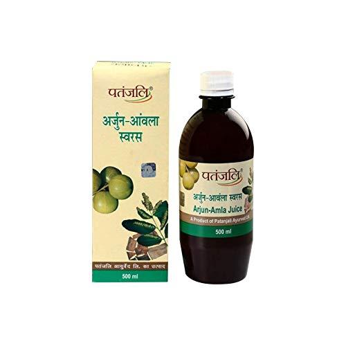 2 X Patanjali Arjun Amla Juice - 500 ml