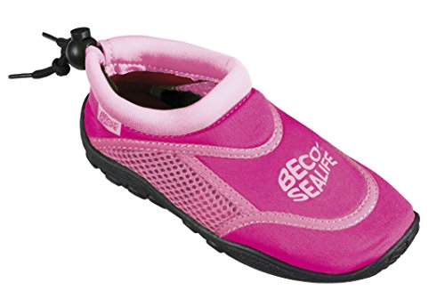 Beco Kinder Sealife Surfschuhe, Pink
