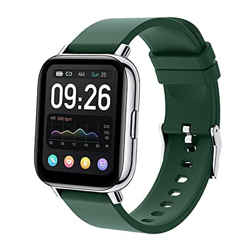 N \ A Orologi Intelligenti per Uomo Donna, Orologio Intelligente per telefoni Android e iOS, Orologi Bluetooth Touch Screen da 1,65 Pollici, Impermeabile IP68, Orologio con Monitor del Sonno
