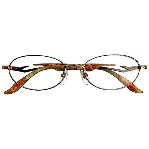 SHOWA ブルーライト カット 老眼鏡 HORIEN (マリーゴールド) リーディンググラス (レディースセット) 全額返金保証 老眼鏡 おしゃれ レディース ブルーライト カット 眼鏡 女性 パソコン PC メガネ (度数:+3.0)