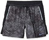 Nike Pro Aeroloft Shorts, Pantaloncini da bagno Uomo, Grigio (Dark Grey/Black), (Taglia Produttore: XX-Large)