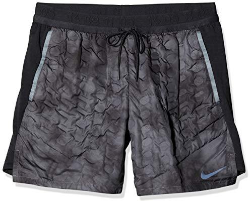 Nike Herren Pro Aeroloft Shorts Badeshorts, Grau (Dark Grey/Black), (Herstellergröße: XX-Large)