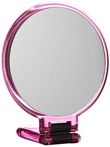 Beter Look - Espejo plegable, aumento 10x, 14 cm, Negro, Estándar