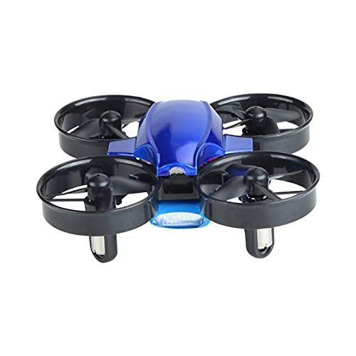 SXLCKJ Drone Toys Montaje de Bricolaje Mini avión de Control Remoto Modelo de avión de Cuatro Ejes Trucos aéreos (Juguete Inteligente)