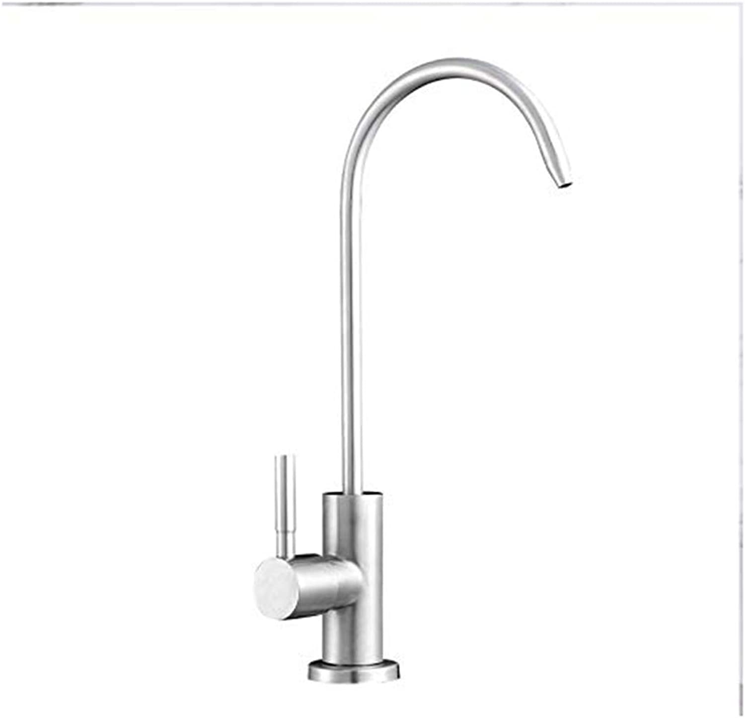 Modern Double Basin Sink Hot and Cold Water Faucetr1Hf100I