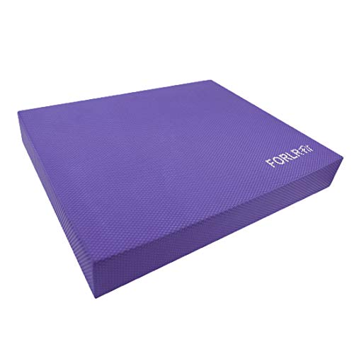FORLRFIT Balance Pad for Physical Therapy,Non-Slip Foam Balance Cushion for Yoga,Fitness Training, Core Balance,Strength & Stability- Standing Mat,Knee Pad &Foam mat
