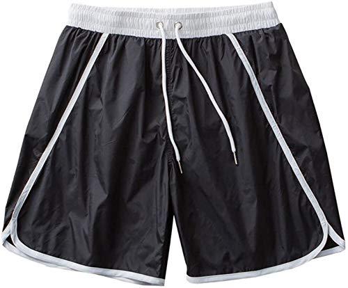 Samanthaa Traje de baño de Moda Troncos de natación Troncos de natación para Hombres Pantalones de Playa Pantalones de Playa Impermeables Spring Boxer Flojo Shorts Quick-Secking Shorts Casuales
