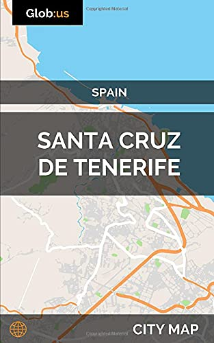 Santa Cruz de Tenerife, Spain - City Map [Idioma Inglés]