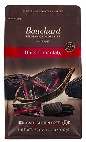 Bouchard Belgian Dark Chocolate Gluten-Free 72% Cacao (32 OZ / 2 LB)