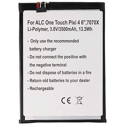 Batería para Alcatel One Touch Pixi 4 6', 7070X, polímero de Litio, 3,8 V, 3500 mAh, 13,3 WH