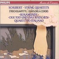 Schubert: String Quartets Nos. 13 & 14 by Quartetto Italiano