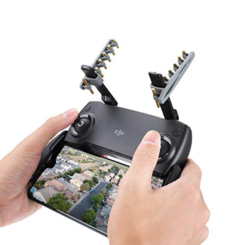RCGEEK Yagi Mavic Mini Drone Range Extender Remote Controller Antenna Signal Booster Compatible with DJI Mavic Pro Mavic 2 Spark Mavic Air 1 EVO II Remote Controller NOT for Mavic Air 2