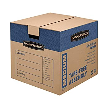 Bankers Box SmoothMove Prime Moving Boxes Medium 8-Pack  0062801