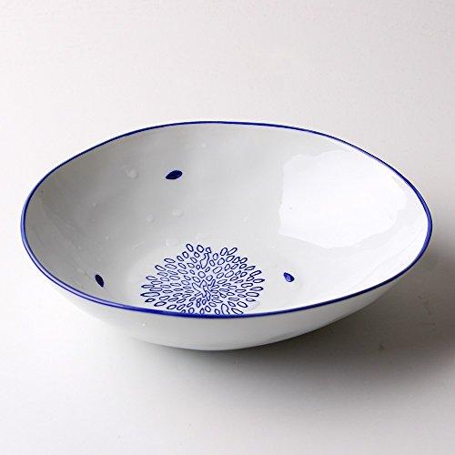 Bols à céréales Vaisselle en céramique créative Vaisselle à salade de fruits Maison Rice Dessert Bowl 7,7 pouces