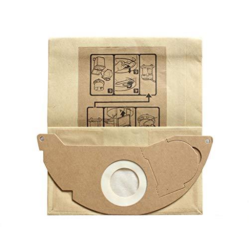 routinfly - Bolsa de basura para aspiradora Karcher (bolsa de papel), ideal para aspiradoras y aspiradoras.