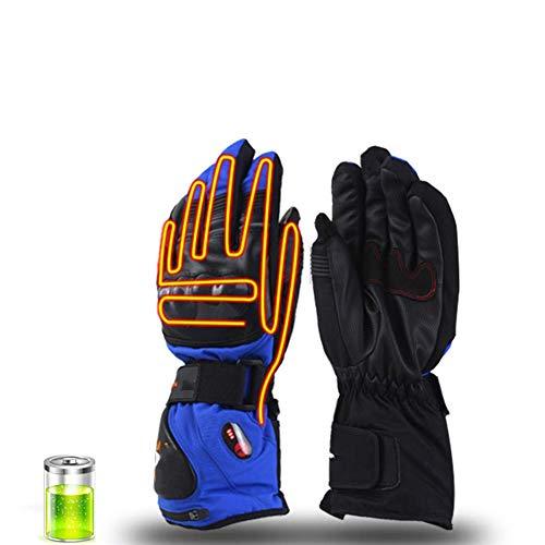 LIIYANN Thermo Gloves Heatable - Gants Gants d'hiver, chauffés électriquement sous des Gants avec Batterie Rechargeable, Coupe-Vent Rechargeable avec température à 3 Niveaux C