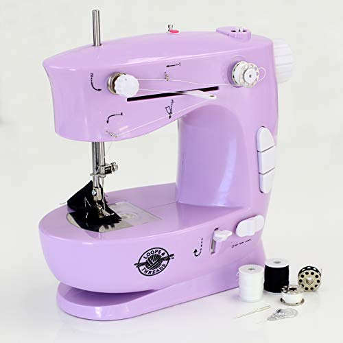 Purple Sewing Machine for Beginners by Loops & Thread, 10pc.