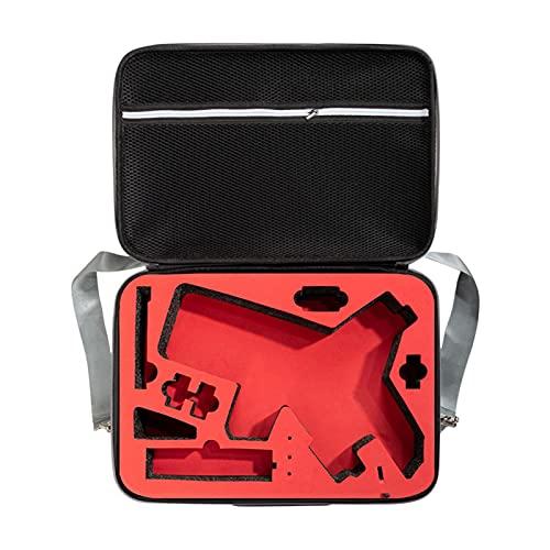 GCDN Funda de almacenamiento para cámara de protección de carcasa dura, gran capacidad, funda de almacenamiento con correa de hombro y asa para Weebill 2 (gris y rojo)