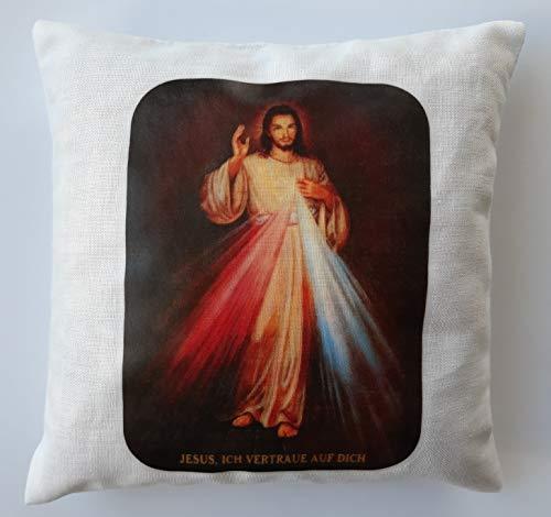 Geschenkkissen Barmherziger Jesus