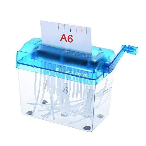 Aibecy A6 Manuelle Hand Papier Aktenvernichter Dokumentenblatt Handgefertigte Gerade Schneidemaschine Werkzeug für Schule Büro Haus Verwendung
