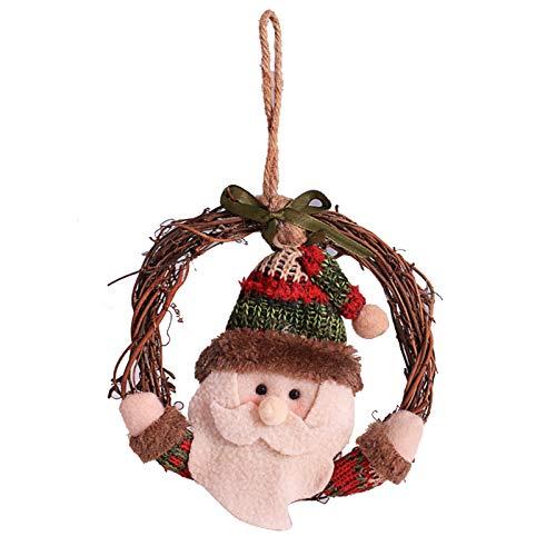 Irfora Weihnachtsbaumdekoration, Weihnachtsschmuck Weihnachtsbaumschmuck Weihnachtsmanns hängende Ornamente Hängende Ornamente Wohnkultur