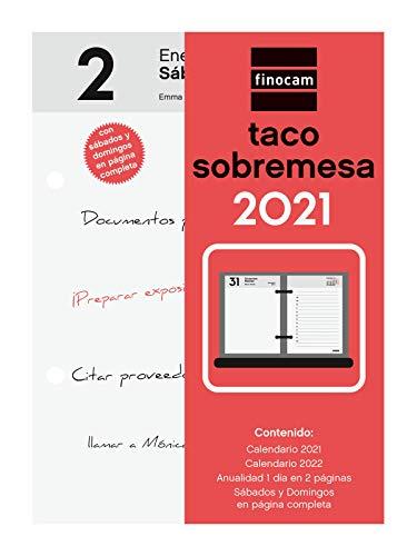 Finocam - Taco de Sobremesa 2021 1 Día en 2 páginas Español