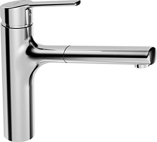 Hansa 03342273 - Miscelatore per lavello, modello Ronda